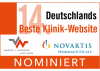Nominierung beste Klinik-Website